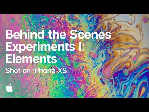 Behind the Scenes  Experiments I: Elements