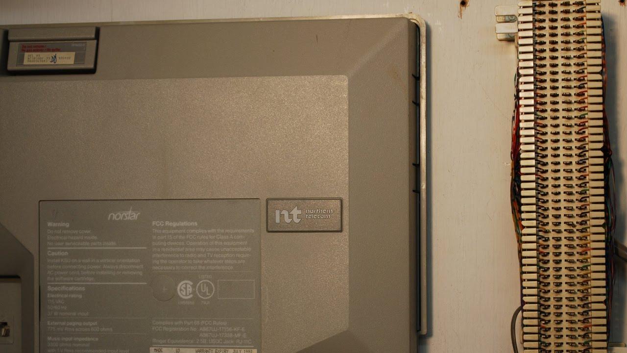 nortel phone system wiring [ 1280 x 720 Pixel ]