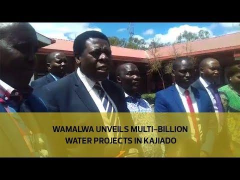Wamalwa unveils multi-billion water projects in Kajiado