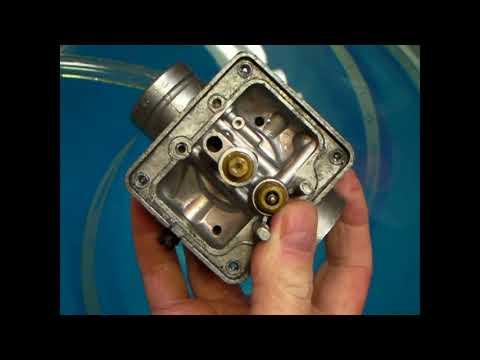 Carburetor Float Needle and Seat Repair with Steel Ball