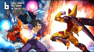 [What-If] Gohan, Goku and Vegeta VS Golden Cell.