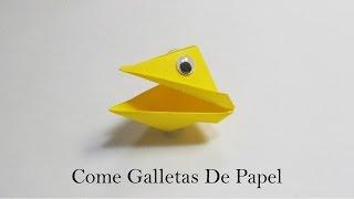 Come Galletas En Origami / Come Galletas De Papel / Mundo Origami