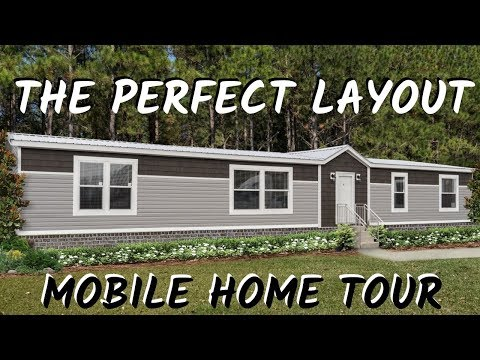 Mobile Home | The Delaware, 32x72 4 Bed 2 Bath Hamilton Double Wide | Mobile Home Tour