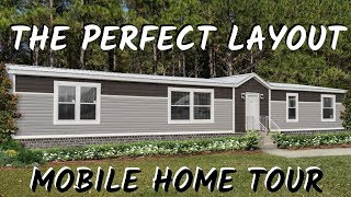 Mobile Home | The Delaware, 32x72 4 bed 2 bath Hamilton Double Wide | Mobile Home Tour