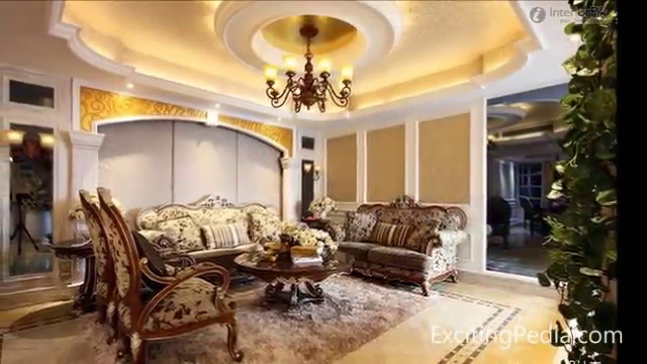 7 best ceiling design ideas for living room youtube - Interior design ceiling living room ...