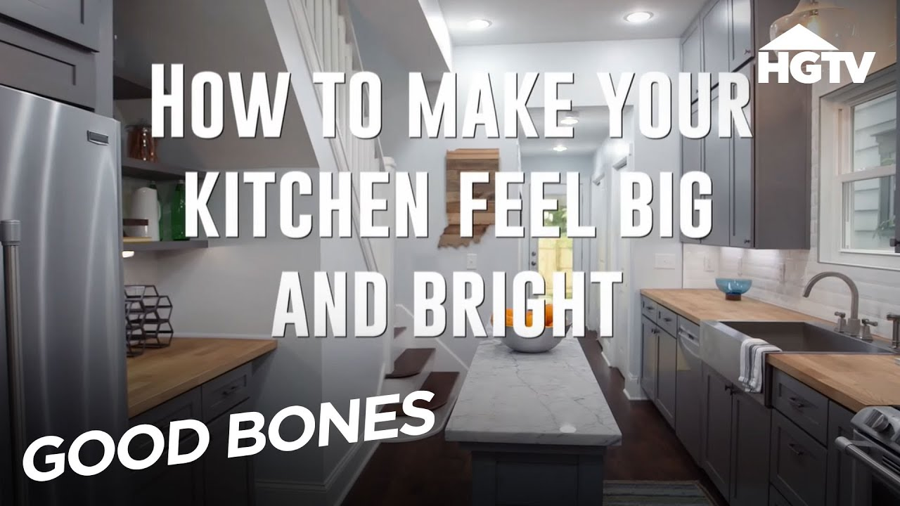 Expert Kitchen Design Tips - Good Bones - HGTV