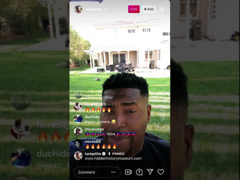 """#TariqNasheed's IG LIVE 8-13-21 