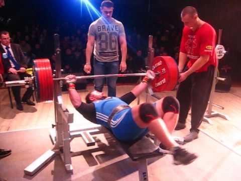 Чемпионат Брестской области по жиму 2017 год. Дмитрий Шашков, 3 подход, попытка на 322,5 кг.