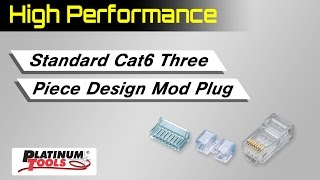 Standard Cat6 High Performance Connectors