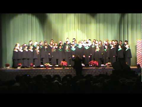Concert Choir - Believe(from Polar Express) - Christmas Concert 2011