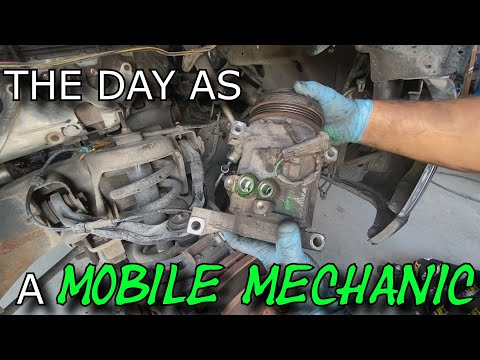 HOW TO REPLACE A/C COMPRESSOR CHEVY TRUCK V8 5.3 & 4.8