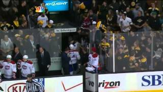 Alexei Emelin vs Zdeno Chara fight . Mar 3, 2013