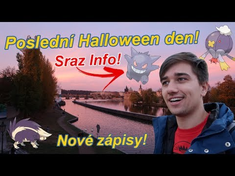 Pokémon GO | Poslední Halloweeen den! + Sraz na Shiny Gengara! | Jakub Destro