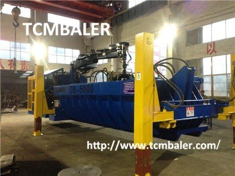 TCM BALER- scarp cars baler machine Denmark  Greece  Seychelles