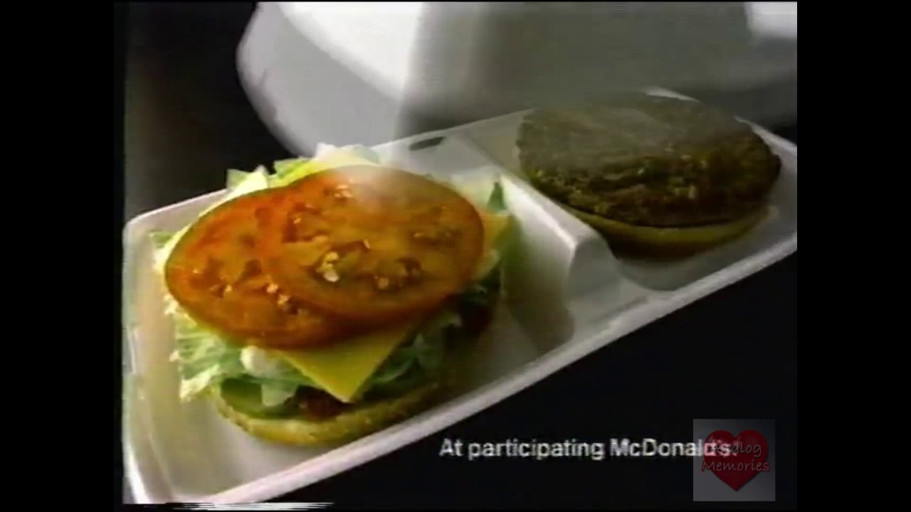 Retro: Weird Items that Disappeared Off the Menu - McD.L.T.