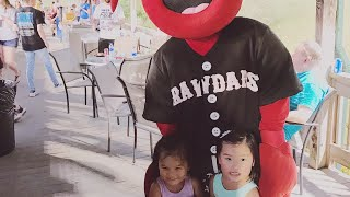 VLOG | First time at a baseball game! Go Crawdads!!