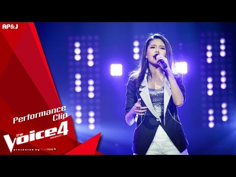 The Voice Thailand - ไข่มุก รุ่งรัตน์ - ไสว่าสิบ่ถิ่มกัน - 15 Nov 2015