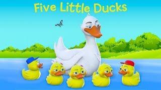 Five Little Ducks | Baby Songs by Nani and Babu