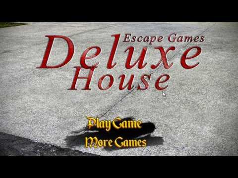 Escape Games Deluxe House Walkthrough
