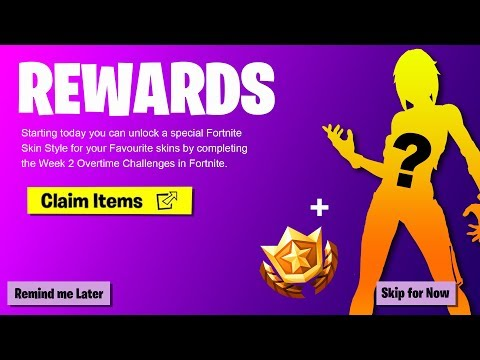 (NEW) FREE SKINS & ITEMS IN FORTNITE! - Special Challenges, New Liferun LTM & Overtime Week 2