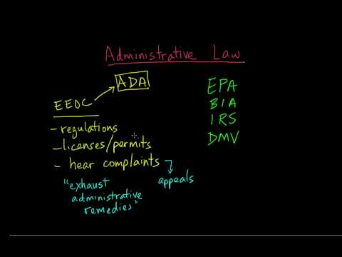 7. Administrative Law