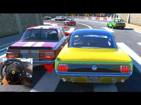 Project Cars GoPro 1966 Ford Mustang - NEW 1000hp Drift DLC Coming!