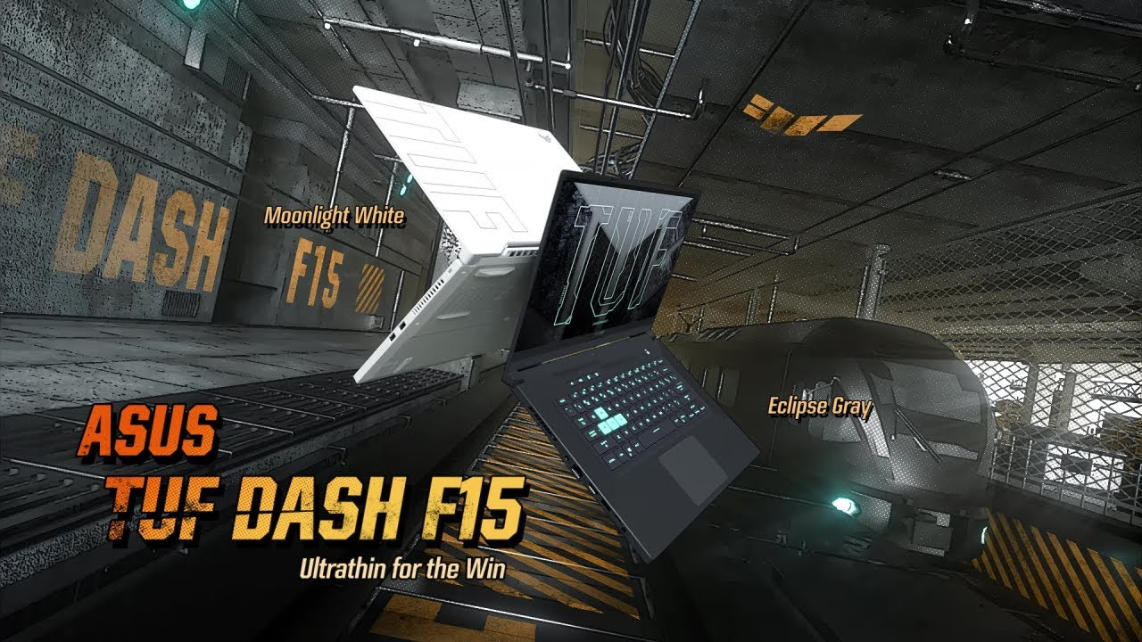 2021 ASUS TUF Dash F15 - Ultrathin for the Win | ASUS - YouTube