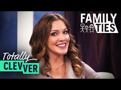 Guess The Celebrity Parents Game With Arrow's Katie Cassidy  Totally Clevver