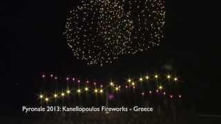 Pyronale 2013: Kanellopoulos - Greece - Griechenland - Feuerwerk - Fireworks