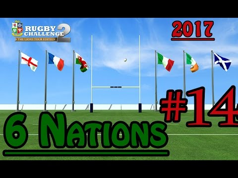 Six Nations 2017 - France vs Wales - Rugby Challenge 3