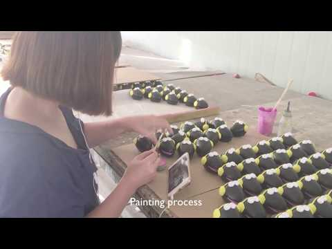 How polyresin figurines are made ?  - Factory visit in China