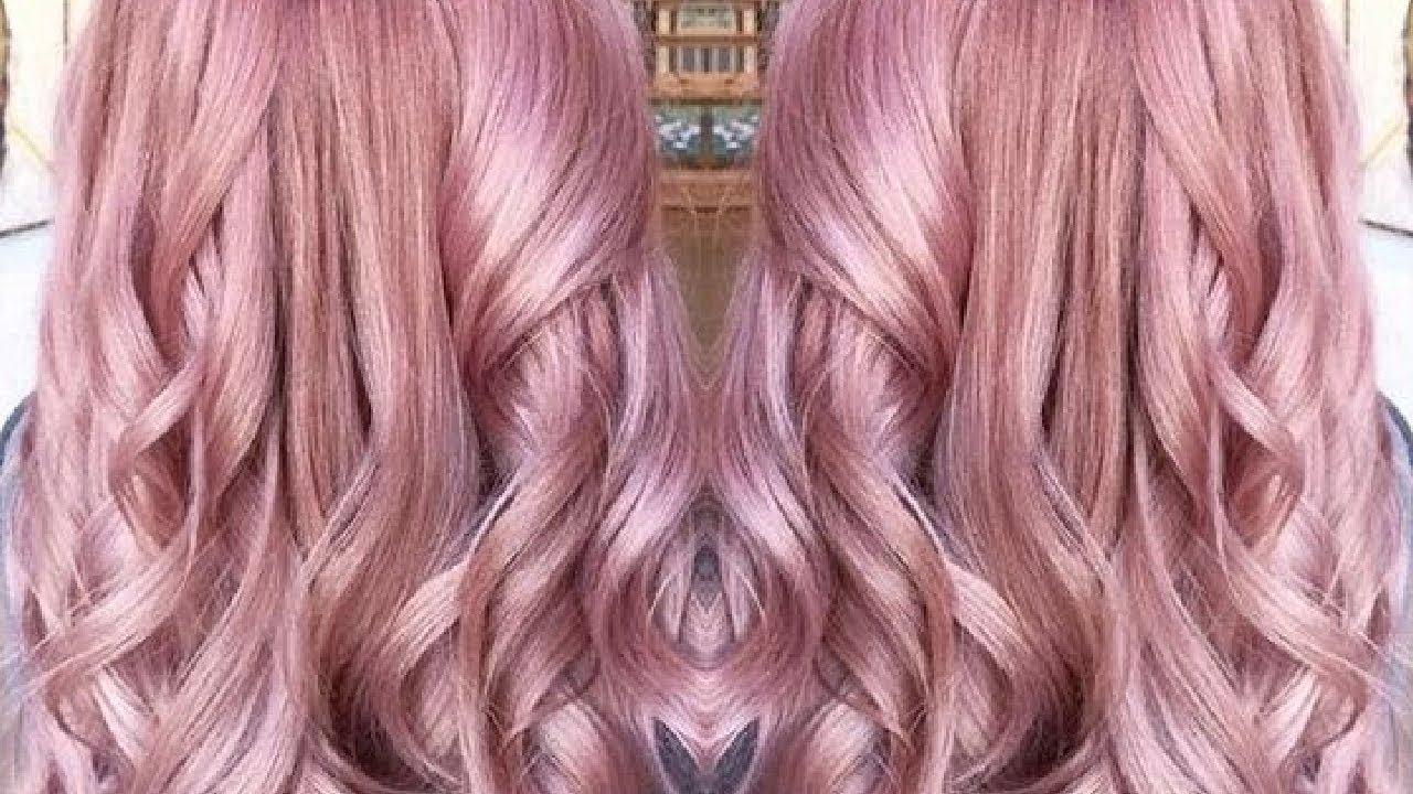BLEACHING TONING Amp DYING MY HAIR METALLIC ROSE Colour