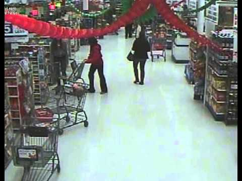 This video was taken from store security cameras at ShopRite in Fairfield. It has been paused at times to better identify the suspects involved in a theft at the store last week.