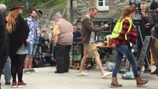 Video Doc Martin Filming 2017 (Series 8) download MP3, 3GP, MP4, WEBM, AVI, FLV September 2018