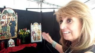 SPANISH MARKET SANTA FE 2019 – ARTIST INTERVIEWS Arlene Sisneros Serna