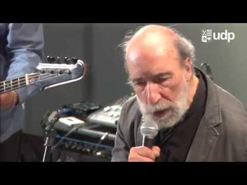 Poesía y música en vivo: Raúl Zurita + González y los Asistentes