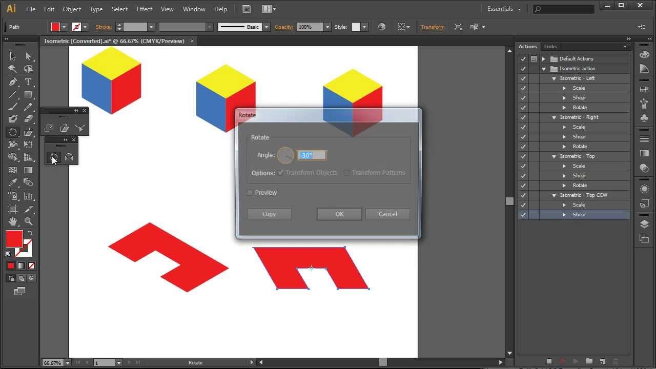 19+ Illustrator Tutorials For Creating Isometric