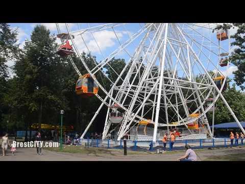Новое колесо обозрения в Бресте в тестовом режиме