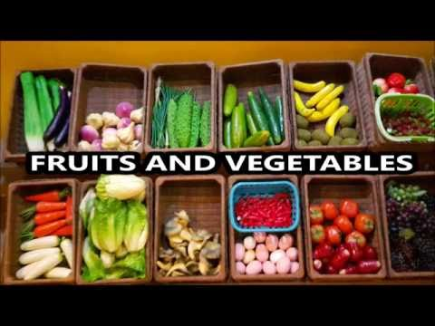 Learn Names Of Fruits And Vegetables For Kids Toddlers
