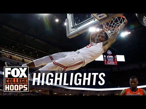 Ohio State vs Illinois | Highlights | FOX COLLEGE HOOPS