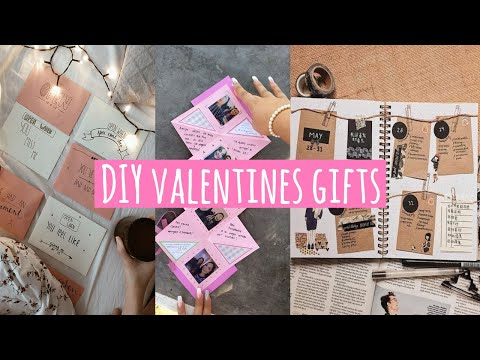 DIY easy and cute VALENTiNES gifts