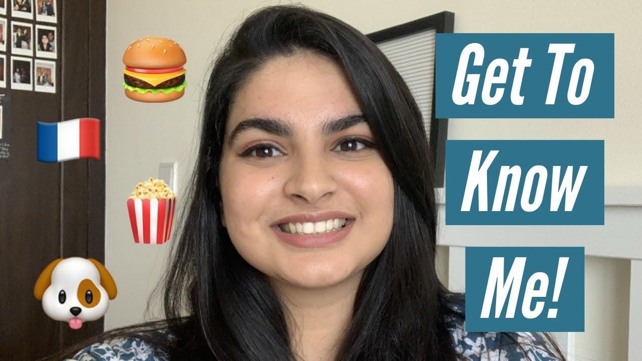 Get To Know Me! | Sanaiya Jhaveri