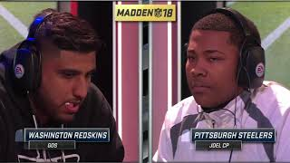 Madden 18   JoelCP Vs. Gos   Madden Ultimate League
