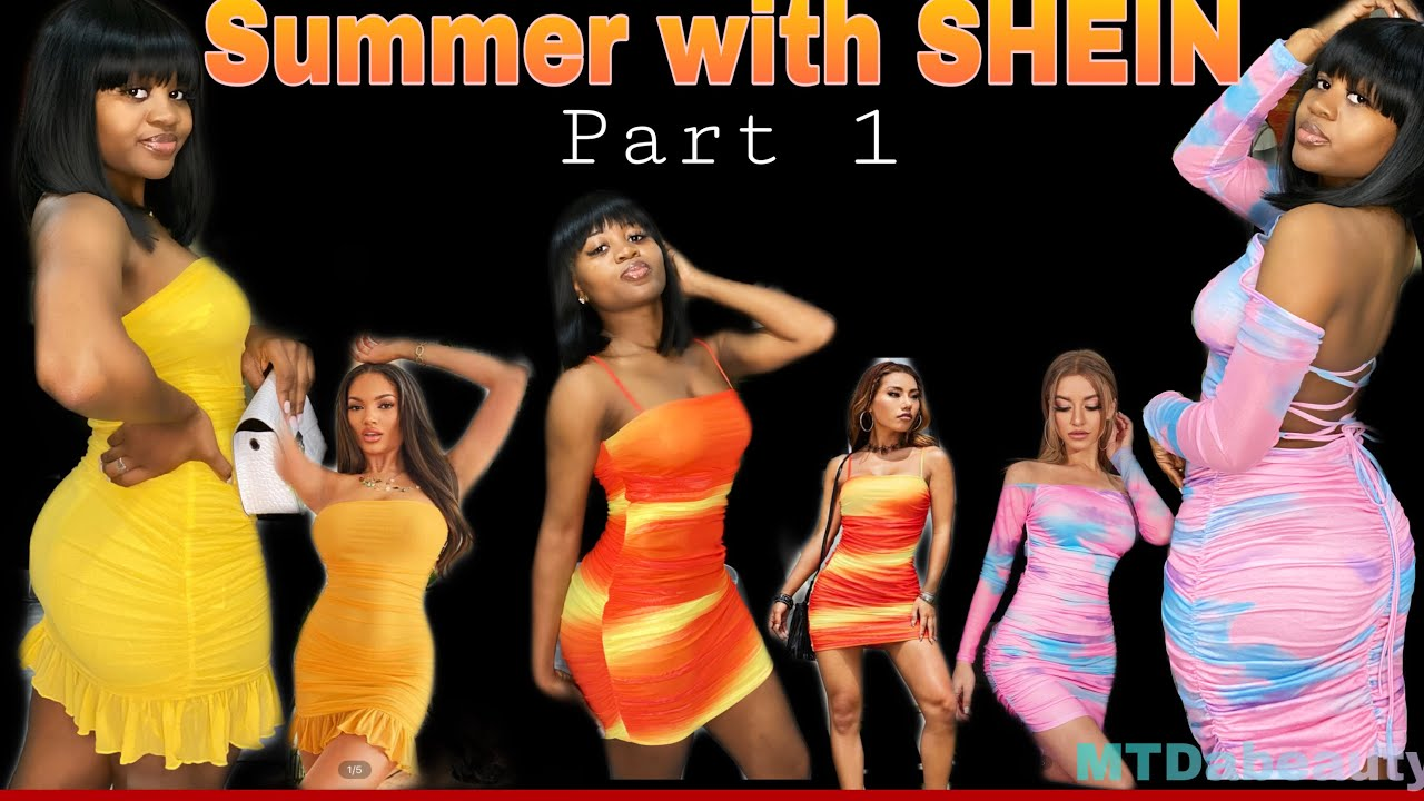HUGE SHEIN SUMMER TRY-ON HAUL 2021 pt 1| w/ Discount code | sexy on a budget | ASL