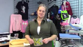 how to make a custom tote bag with oki pro920wt white toner printer and digital heat fx