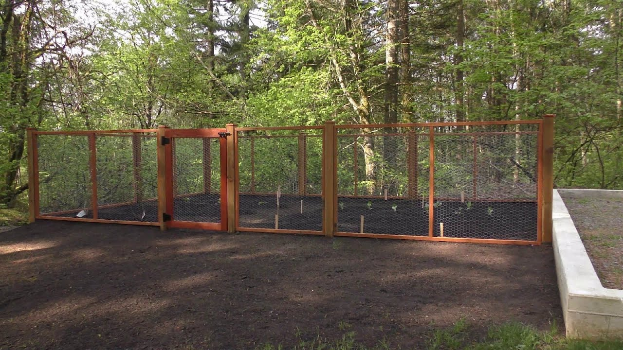 Etonnant Building A Garden Fence