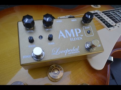 Lovepedal Amp Eleven with Sean Gibson of The Noise Reel