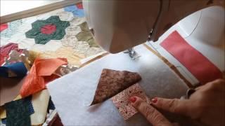 CRAZY PATCHWORK – Passo a passo by Maria Rita