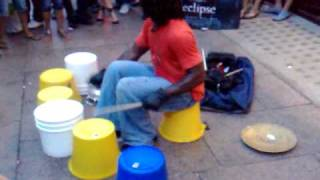Repeat youtube video Street Drummer