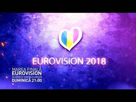 Finala Eurovision România 2018, în direct la TVR1